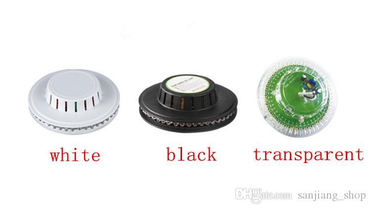 UFO magic bulbo 48 LEDs Mini RGB LED Efeito Estágio Lâmpada de Iluminação Lâmpada Disco DJ Party AUTO Rotating Club Light
