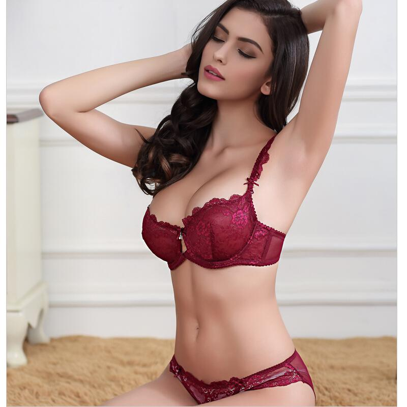 Lace lingerie pink