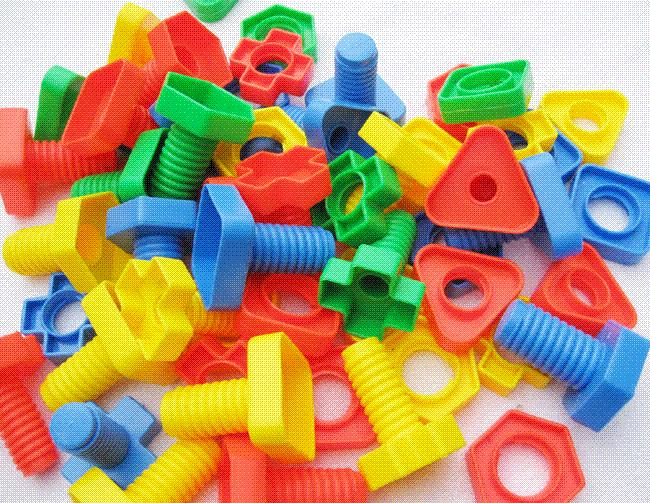 Best Learning Toys For 3 Year Olds : Years old baby toys screw building kits plastic nut assembling