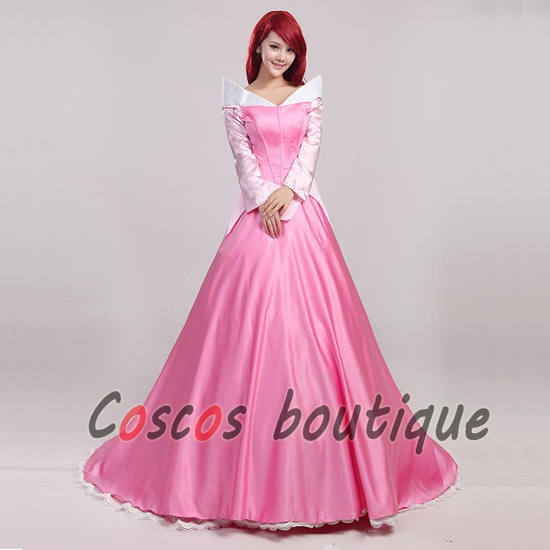 Damen Partykleid Adult Kinder Kostüm Ausgefallenes Beauty Prinzessin Sleeping Kleid Für Aurora Aj4cR53Lq
