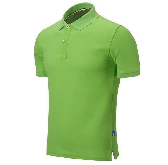 2016 лето вышивка лошадь рубашки поло человек 100% хлопок рубашки поло мужчин с коротким рукавом повседневные рубашки человека Твердая Pony рубашка Камиза Tee