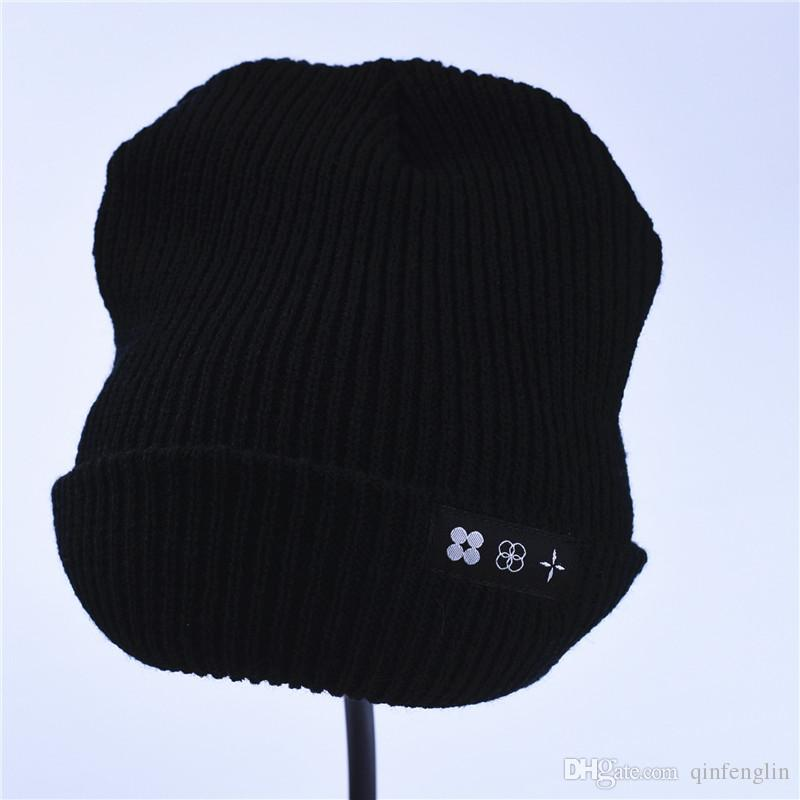 Winter Hats For Men Skullies Beanies The Wings Tour Patch Logo Fashion Funny Skull Stretch Cap Cuff Beanie Hat