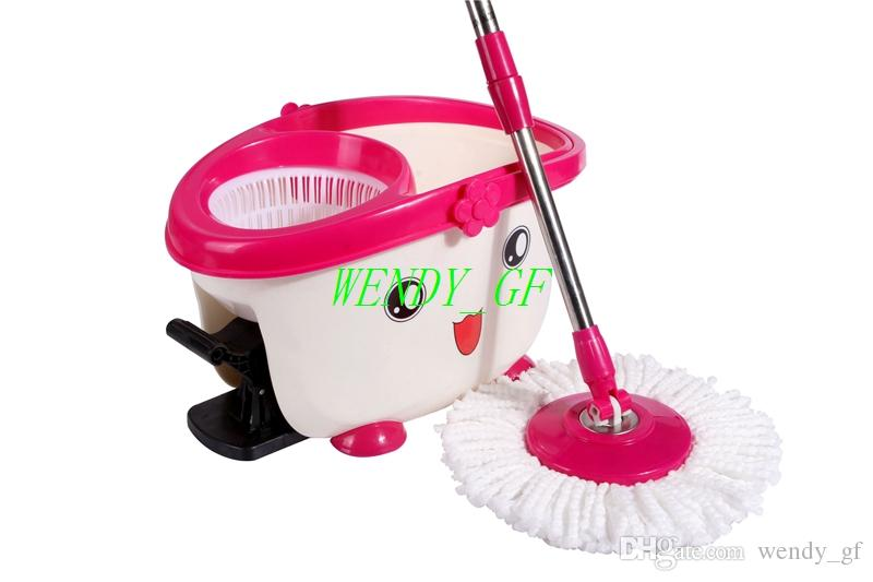 walmart best sales new arrival fourdrive hand pressure spin mop microfiber mop heads with magic mop bucket household cleaning tools