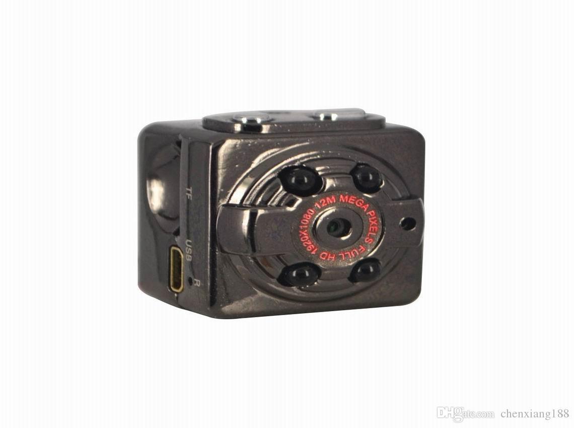 Factory wholesale IR Night Version SQ8 Mini Sport DV Camera 1080P Car DVR AVout Cam camcorder Voice Video Recorder high quality PC webcam