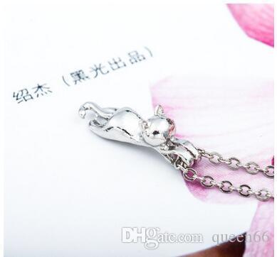 Collier de pendentif en argent pour femme de la personnalité des femmes Collier en argent pour femme