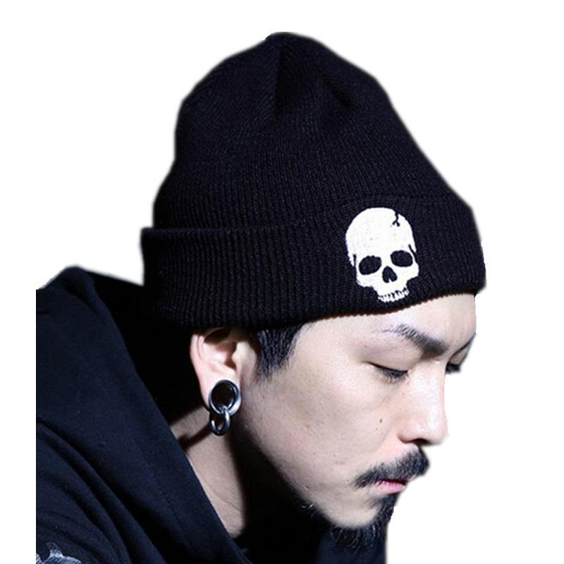 4834bc82471a2 2016 Skull Beanies Men s Hat Winter Hats For Men Women Winter Knit Hat Caps  Brand Bonnet Outdoor Ski Skullies Warm Cap Beanie