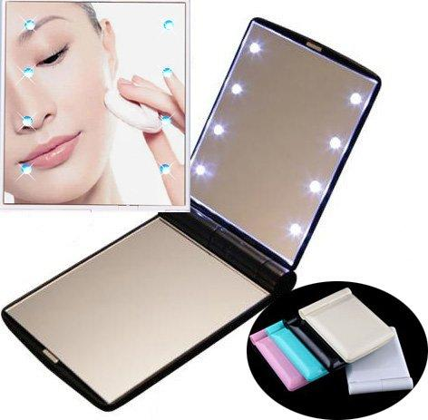Wholesale Compact Mirror Lover Gift Wedding Favor Led