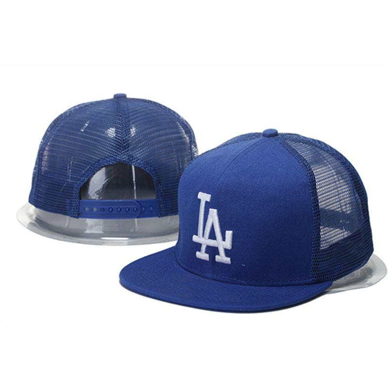 2015 Men S Los Angeles Dodgers Mesh Trucker Hat Embroidered LA Snapback  Baseball Two Tone Caps Custom Caps Cool Caps From Dh app 38d3c391be4