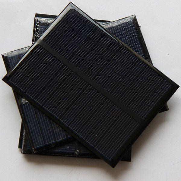 Wholesale 1.2W 6V Small Solar Panels Pocrystalline Silicon Solar Cells DIY Solar Module Educational Kits Epoxy 112*84*3mm
