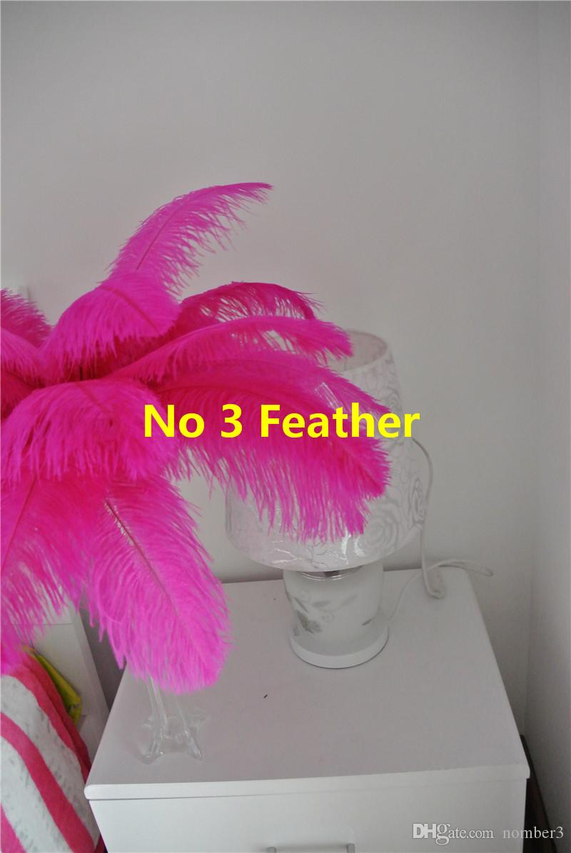 2018 Cheep Osrich Feather Hot Pink Ostrich Feather Plume For Wedding ...