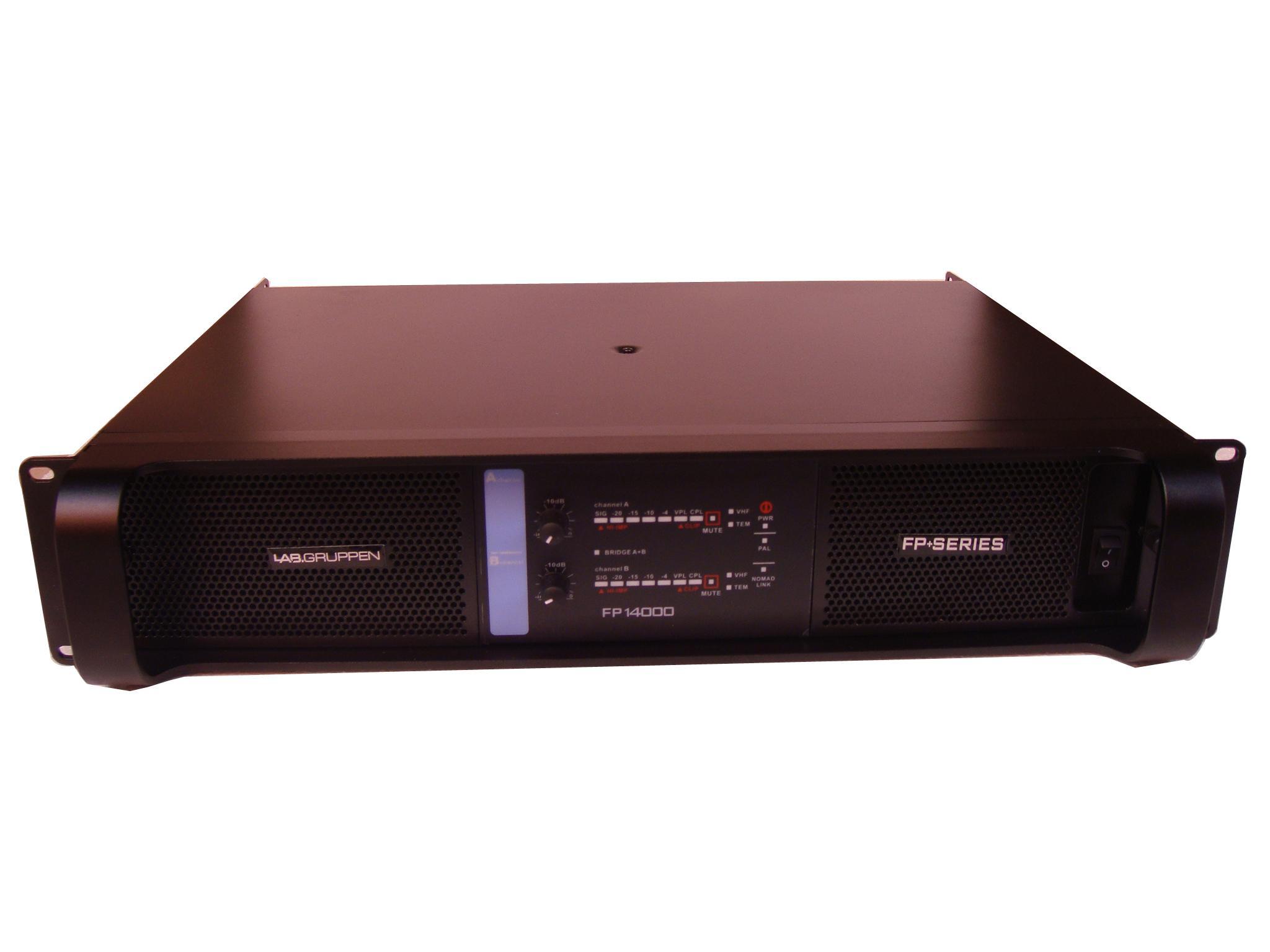 lab amplifier fp14000 new class d amplifier 2350w at 8ohms digital power amplifier professional. Black Bedroom Furniture Sets. Home Design Ideas