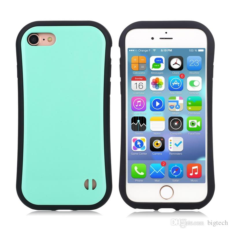 Fashion Soft Silicone Candy Color Korea Style Shock Absorbing Case for iphone 7 4.7inch lg x power k210 Cell Phone Back Cover Case