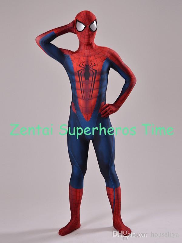 Compre Envío Gratis Custom Lycra Spandex Concept Art Spider Man Diseño 3D  Spiderman Cosplay Zentai Spiderman Traje De Cuerpo Completo A  57.18 Del  Houseliya ... 01943a7cdf7