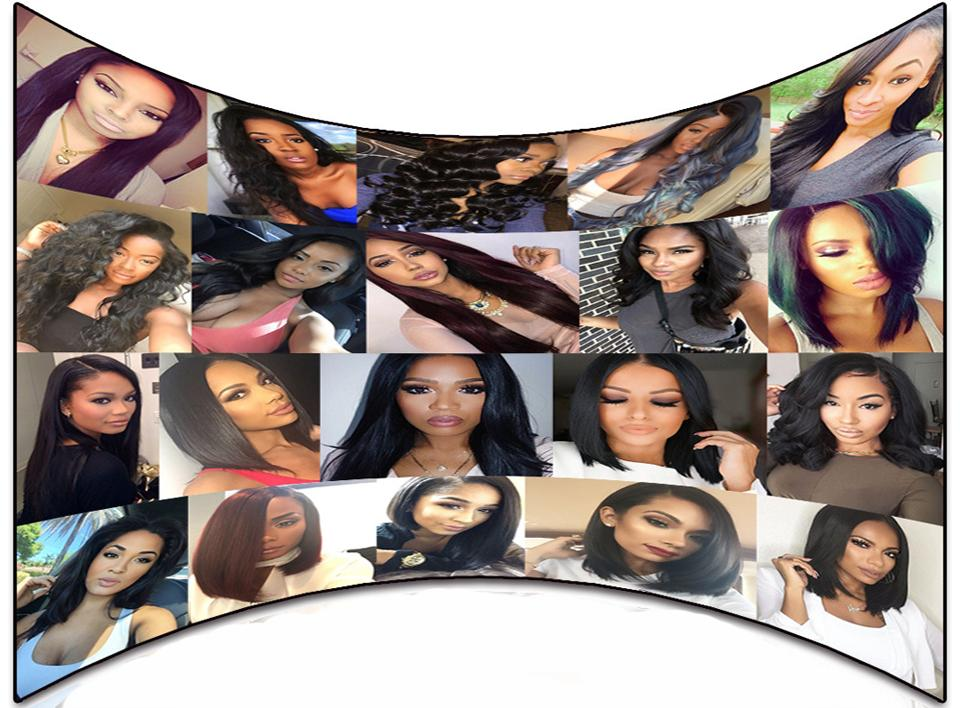 Peruvian Light Yaki Full Lace Wig Glueless Human Hair Yaki Straight lace front Wigs With Baby Hair