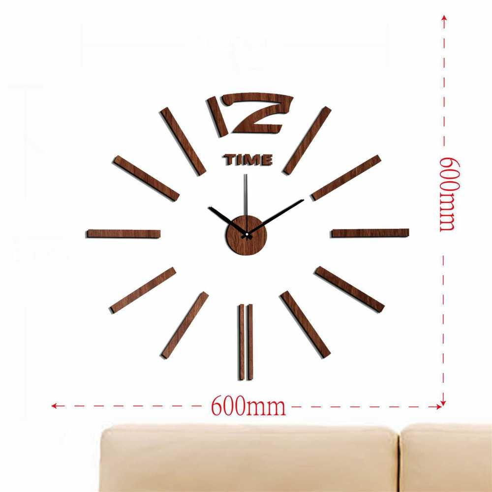 Wholesale Modern Wall Clock Design Wanduhr Wandklok Relojes Pared Self  Adhesive Home Decor Pared Relogio Parede Diy Watch Plastic Round Wall  Clocks Buy Wall ...