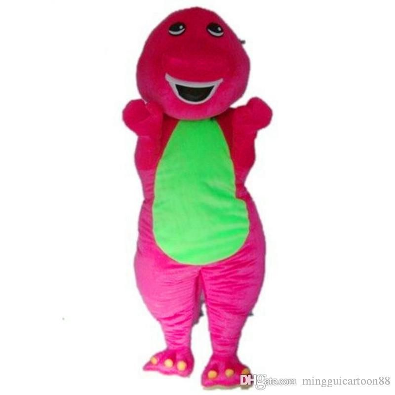 Barney the purple dinosaur adult costume
