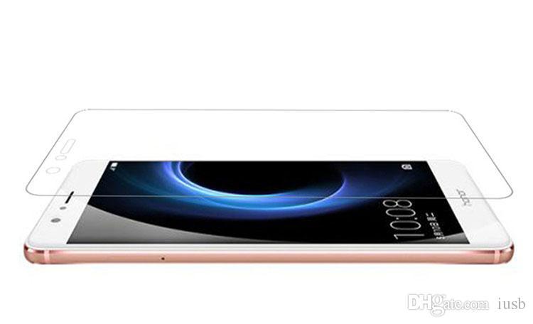 Orijinal Temperli Cam Ekran Koruyucu Için Huawei Mate S 7 8 HUAWEI Ascend P6 P7 P8 Lite P9 Artı Ambalaj Kutusu ile Koruyucu Film