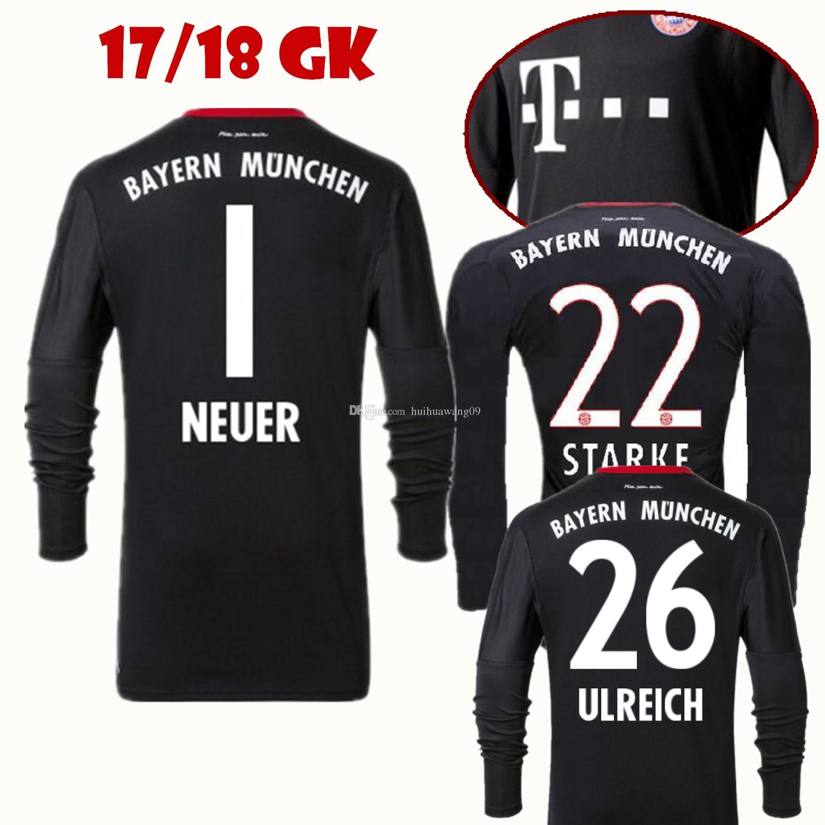 Seconda Maglia FC Bayern München Manuel Neuer
