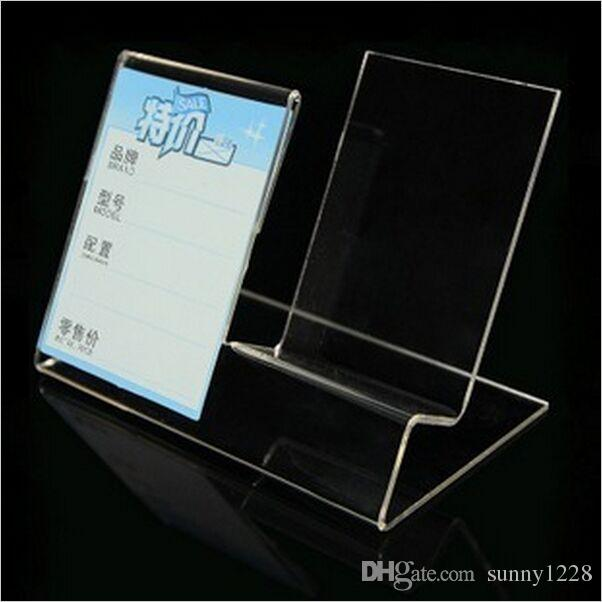 Clear Acrylic Mobile Cell Phone Display Stand Holder Rack Can Be Put Adorable Cell Phone Display Stands