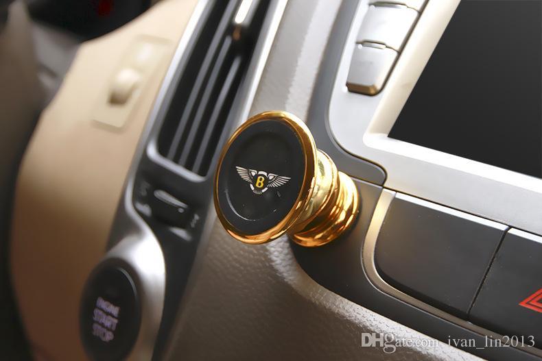 Mini Magnetic Mobile Phone Holder Car Dashboard Bracket Cell Phone Holder Stand For universal Magnet Mount Holder