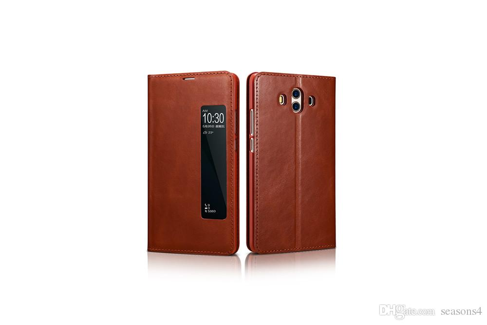 For Huawei MATE 10 Phone Case Original Official View Window Smart Flip Leather Cover Capa Coque Funda 100% brand new Cases