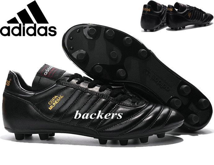 7ef9545fb 2019 Original Adidas Copa Mundial FG Soccer Shoes Football Cleats Cheap  Originals Sneakers Black Gold Outdoor Sports Size 39 45 From Backers