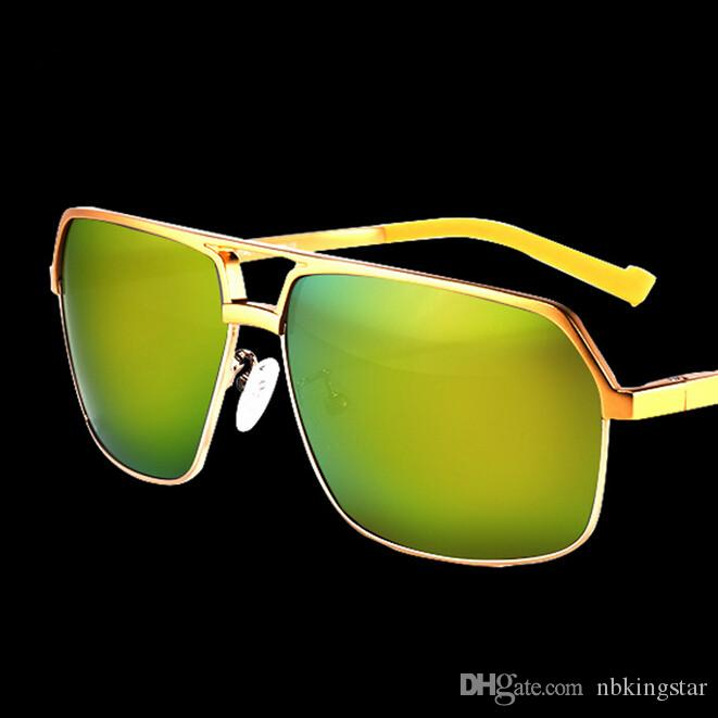 고품질 남성 마그네슘 알루미늄 합금 편광 선글라스 스포츠 선글라스 액세서리 운전 Google 안경