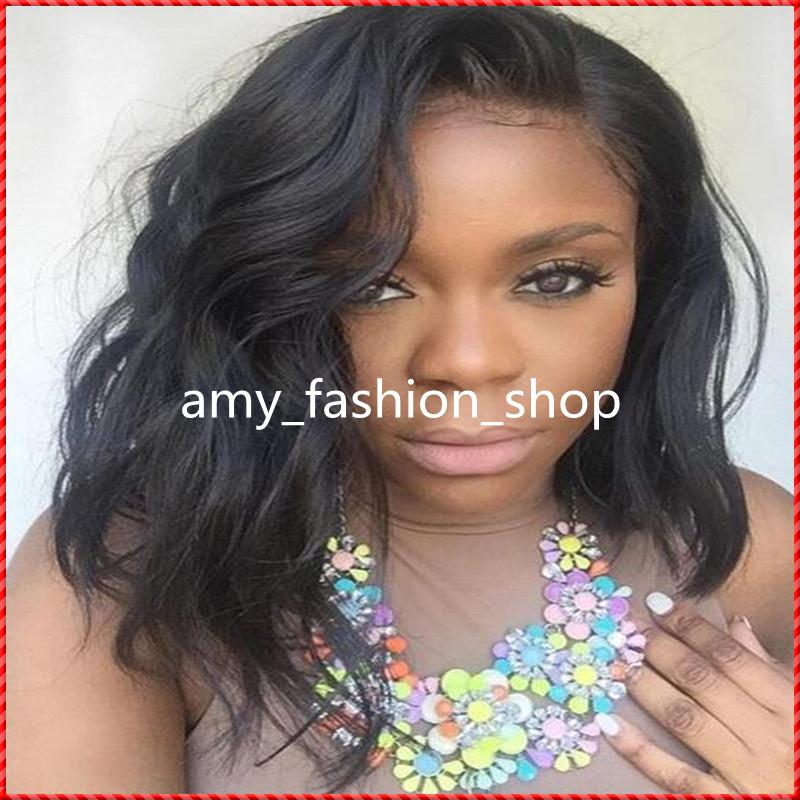 New Arrival GrantSea Hot sale Grade 6A 10 Full Lace Wig short Hair 100% Human Hair wig