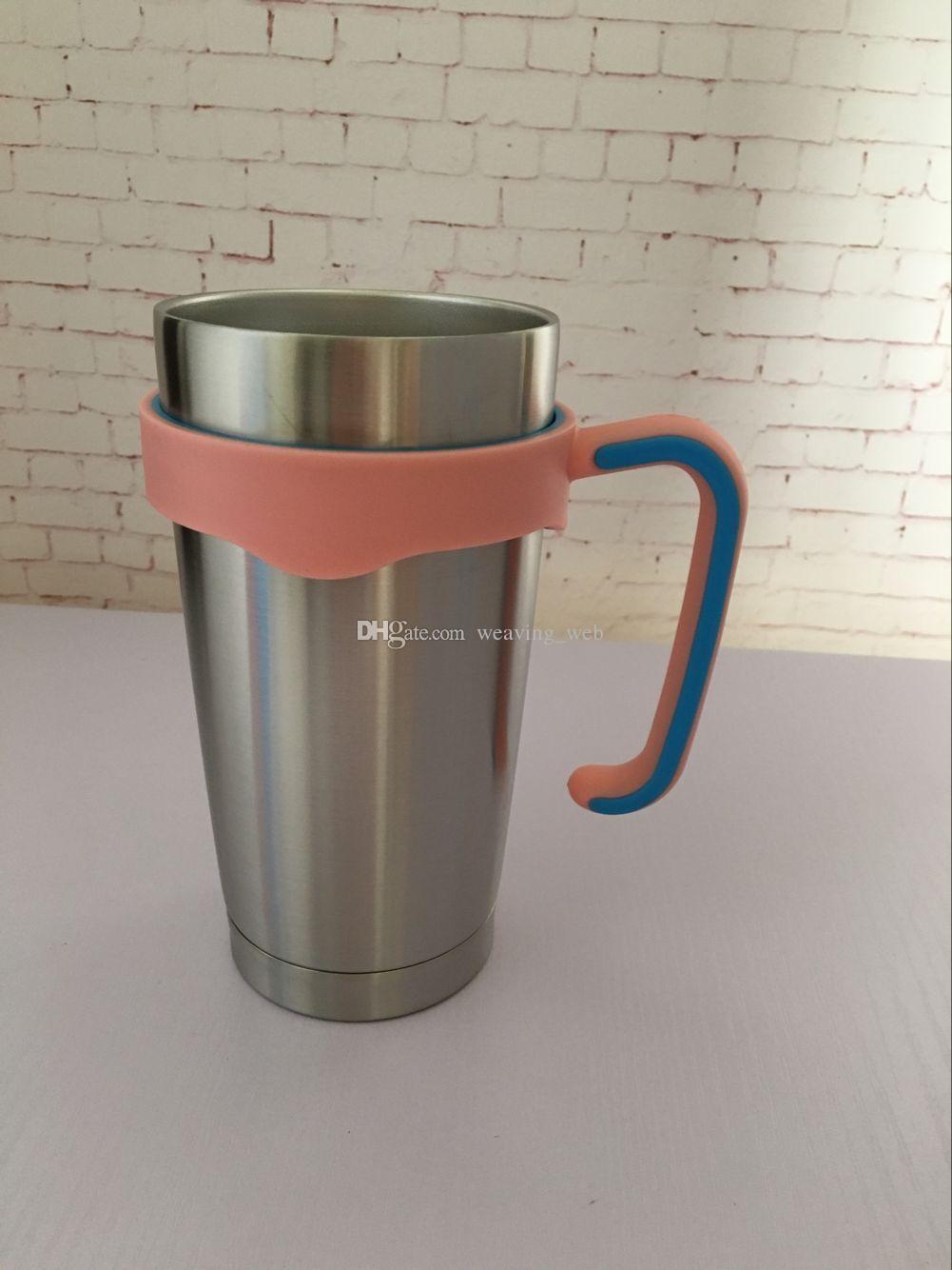 20 унций ручка чашки стакан ручка drinkware ручки черный розовый синий смешанные цвета для 20 унций чашки