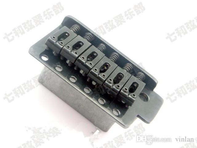 ponte chitarra nera sinistra Componenti chitarra 6 corde Ponte chitarra elettrica Accessori strumenti musicali