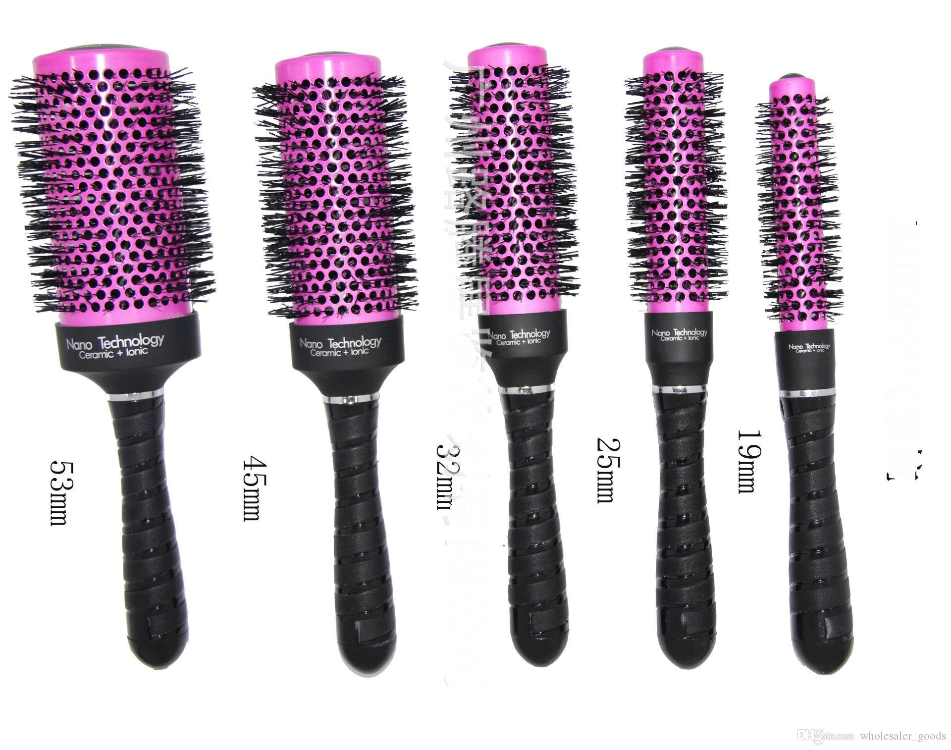 best hair styling brushes radial hair brush purple professional use a brush 7028