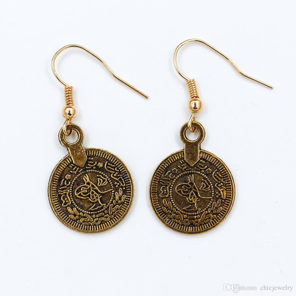 Neue Mode Stud Ohrringe Für Frauen Goldene Farbe Runde Ball Geometrische Koreanische Ohrringe Modeschmuck Frau Zubehör Ohrstecker