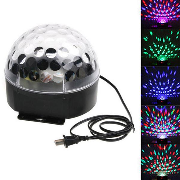 RGB Effect Light 25W Laser Party DJ Crystal Magic Ball KTV Disco Bar Stage Digital Natale Proiettori Lampada Home Entertainment