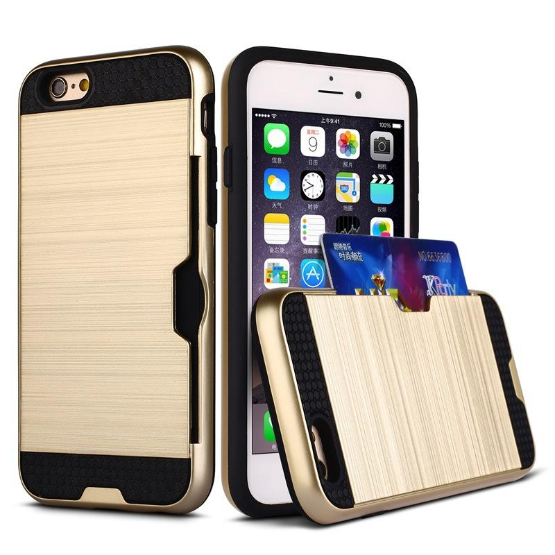 reputable site 58e54 3b8c8 Mobile Phone Case with Credit Card Holder Case sliding for Samsung Galaxy  note 3 note 4 s6