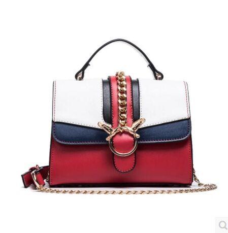 8f79627271b Fashion Crossbody Bags For Women Rivet Chain Shoulder Bag Female Women  Messenger Bag Small Crossbody Bags High Quality Handbag Handbag Handbag  Online with ...