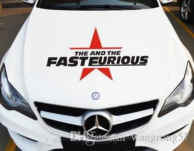 Fast And Furious Car Stickers Creative Stickers Personalized - Car sticker design