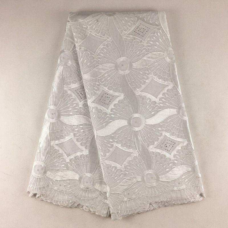 Alta Qualidade Africano Swiss Lace Voile 079, Frete Grátis 5 jardas / pacote, 100% algodão Festa de Casamento Africano Voile Lace Roupas
