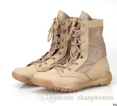 Military Tactical Police Army Boots 2017 SAND AND BLACK Men S Boot Fashion  Size 36 46 Boys Boots Fashion Shoes From Zhangwenrui f6832fbe43f4