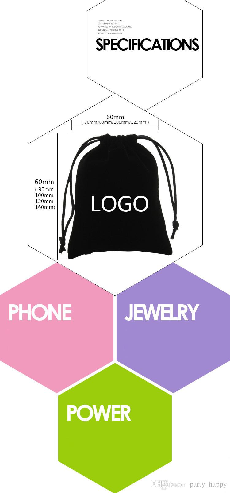 016 Premium Organza Wedding Favour Gift Bags Jewellery Pouches Flannelette Jewelry Packaging Cell Phone Bag Gift Bags Gifts For Women