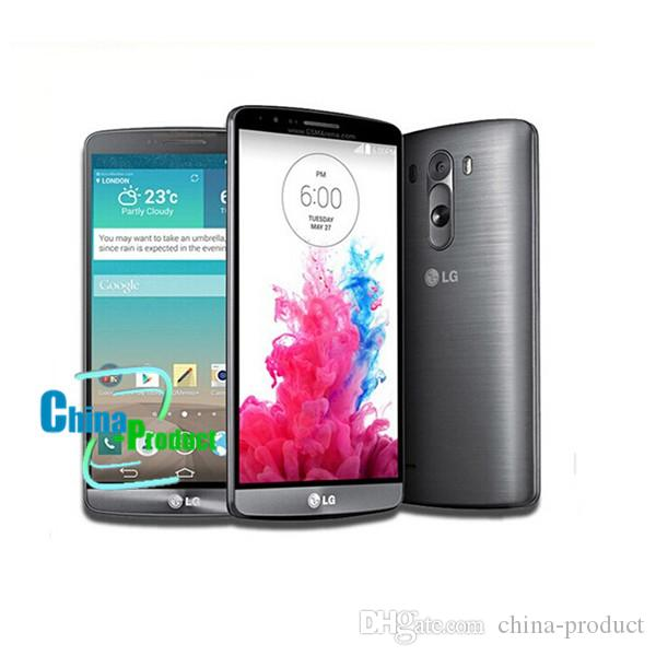 "100% Original LG G3 D850 D851 Mobile Phone Android OS 4.4 13MP 5.5"" 2G/16G/32G ROM Phone Refurbished"