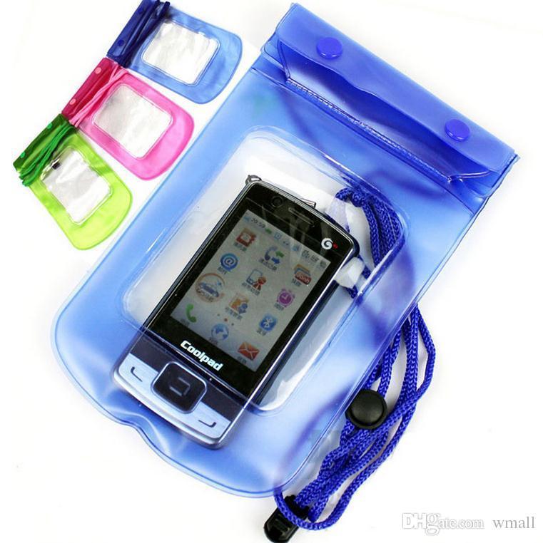 Bewegliche wasserdichte Tasche PVC-schützende Handy-Beutel-Beutelkasten für das Tauchen Schwimmen Sport für iphone 6 7/6 7 plus S 6 7 ANMERKUNG 7