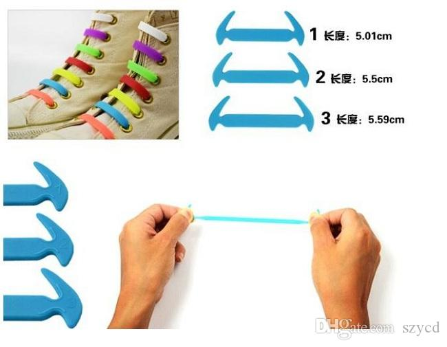 HRunning No Tie Shoelaces Fashion Unisex Women Men Athletic Elastic Silicone Shoe Lace All Sneakers Fit Strap