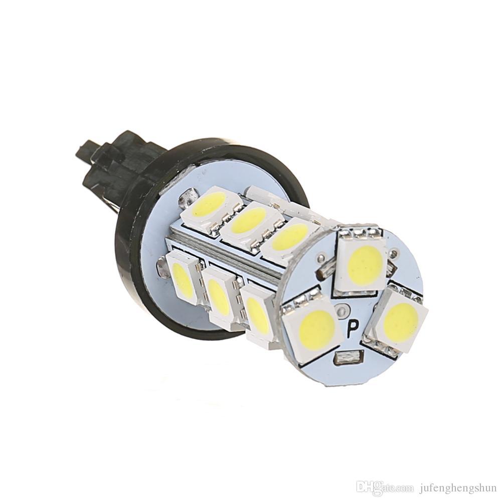 LED Car Light Bulb 3157 18SMD 12V Cold White 6000K LED Bulb Brake Tail Parking DRL Daytime Running Light Universal LED Lamp