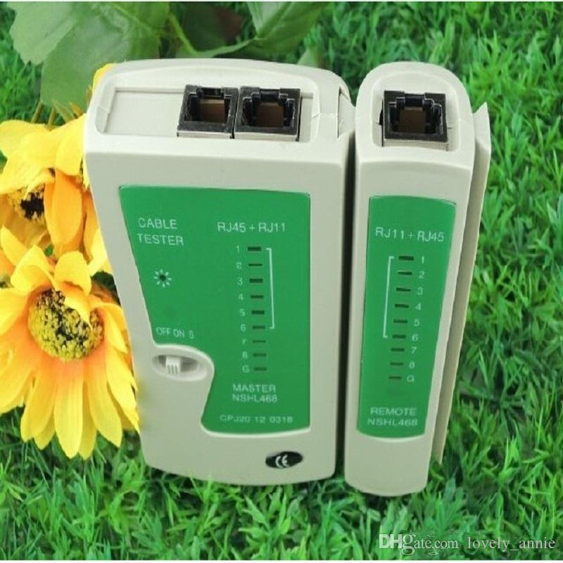 RJ45 Wholesale!!! High-quality High performance RJ11 RJ12 CAT5 UTP NETWORK LAN USB CABLE TESTER C119