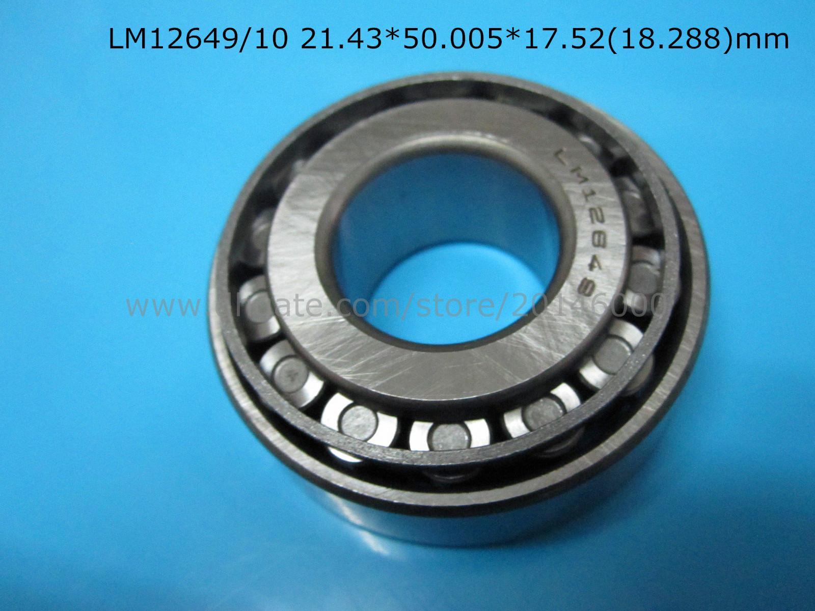 12649 LM12649/10 подшипников сплющенного ролика LM12649/10 21.43*50.005*17.5218.288мм