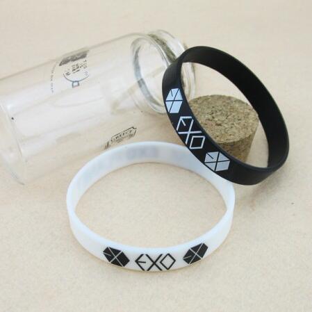 Polsino con cinturino in silicone One Exection Jelly Wristband