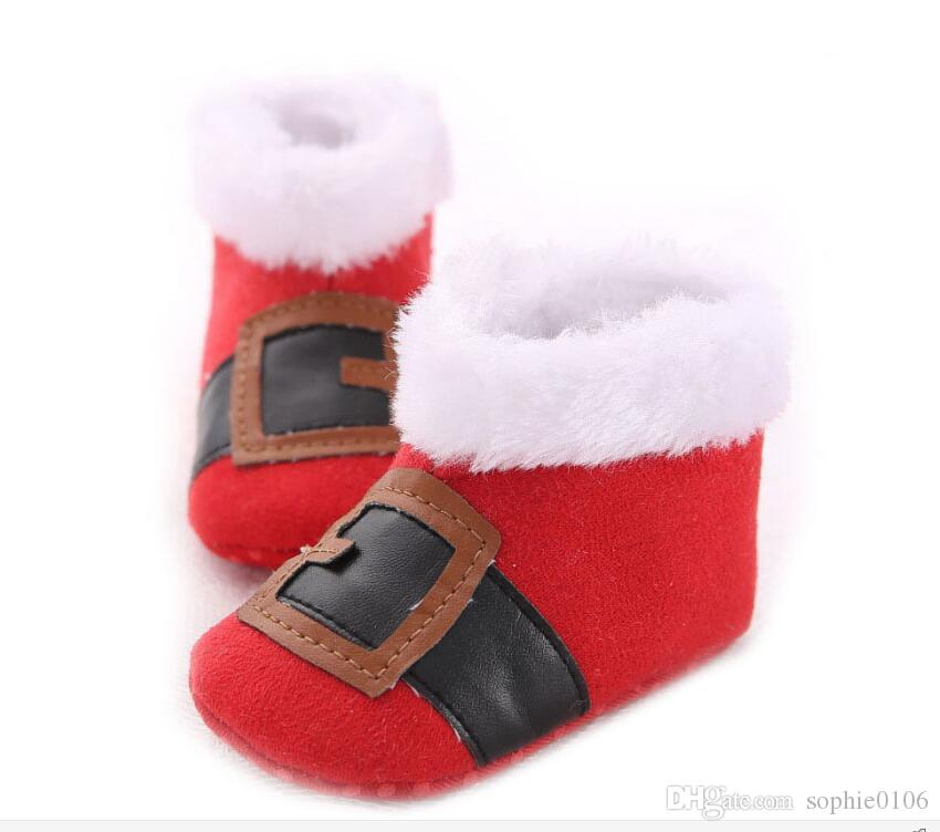 Baby Christmas Shoes Unisex Baby Boots