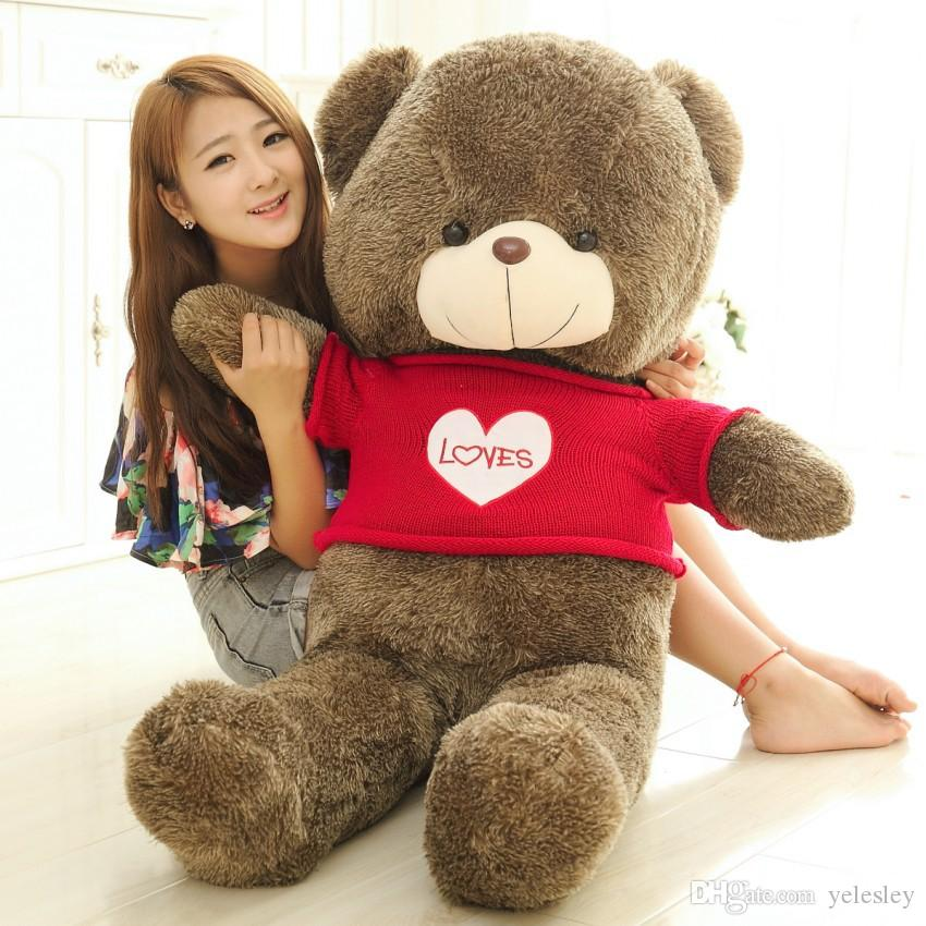 Gifts with TEDDY BEAR PLUSH HUGE SOFT TOY Plush Toys Valentine's Day gift/ Birthday gifts /New Year's gift