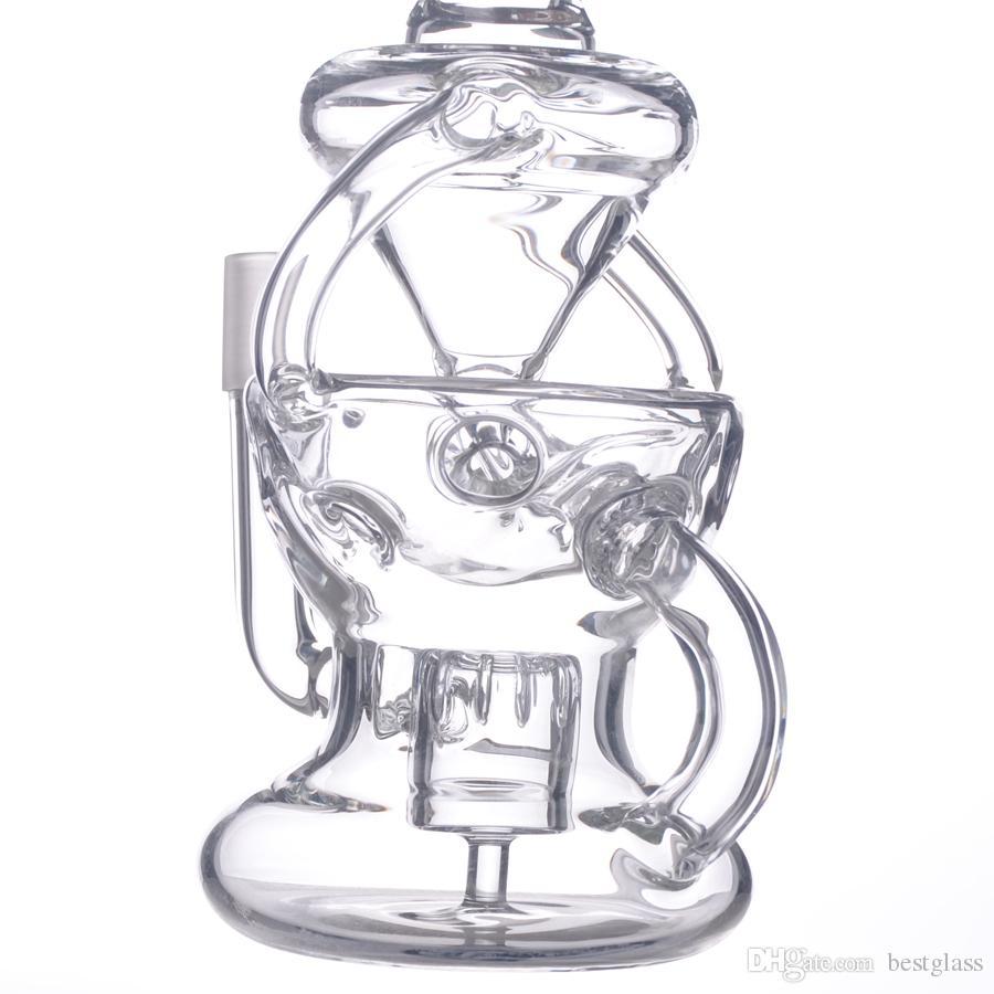 Новый Дизайн Двойной Стеклянный Шар Форма Ресайклер Фаберже Яйцо Дно Насадка Для Душа КНР Поставляется С Куполом Ногтей BestGlass S12