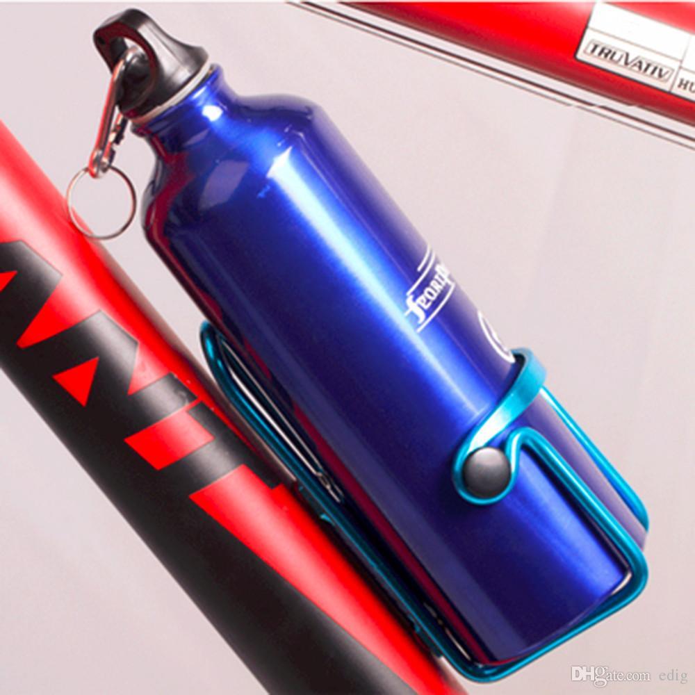 5 Farbe Mountainbike Doppel Perlen Aluminium Sport Flaschenhalter Käfig Getränke